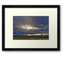 Sunset at Milora Framed Print