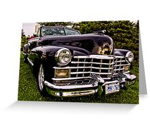1947 Caddy Convertible Greeting Card
