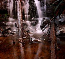 """""""Lilydale Falls, bottom"""" by Husky"""