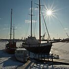 Frozen Harbor (2) by Christian Hartmann
