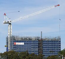 Constructing The Edge - Rockhampton, Queensland Australia by Gryphonn