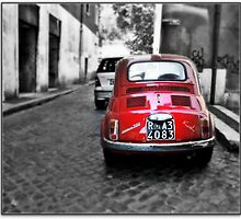 The Red Fiat by VioletKashi