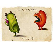 Love Es Strange Critters  Photographic Print