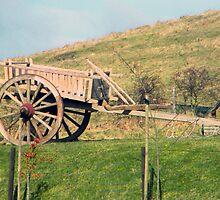 Wooden wagon by amylw1