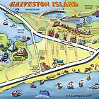 Galveston Island CARD by Kevin Middleton