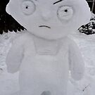 Stewie Giffin Snowman by Brandon Myles Osman