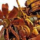 Caterpillar Engine & Fan by Mick Smith