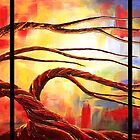 The Worshipping Tree by Abstract D'Oyley