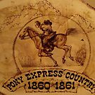 Pony Express Country by JerryWayne Anderson