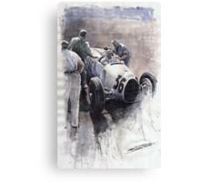 Auto Union B type 1935 Italian GP Monza B Rosermeyer Canvas Print