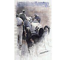 Auto Union B type 1935 Italian GP Monza B Rosermeyer Photographic Print