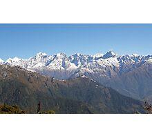 Magnificent Himalayas ~ Beyond Taksindu Pass Photographic Print