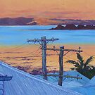 Autumn Twilight - Manly by Cary McAulay
