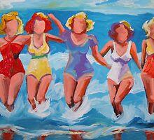 Bathing Beauties by angelamulligan