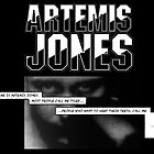 ARTEMIS JONES - COVER MOCK-UP by BYRON