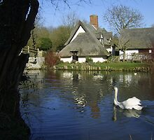 Constable Waters, Flatford, Suffolk by wiggyofipswich
