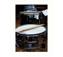 Snare Drums Art Print