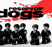 Lego Reservoir Dogs by Kevin  Poulton - aka 'Sad Old Biker'