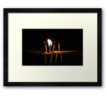 You light me up! Framed Print