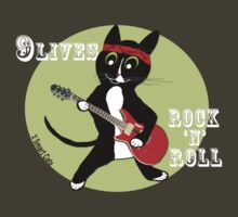 Rock n Roll Cat T-Shirt
