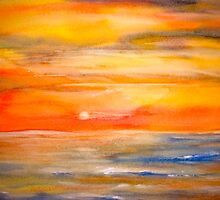 Landscape Abstract...Lake Superior Sun by ©Janis Zroback