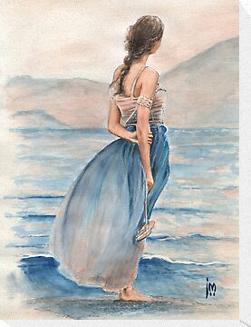 &quot;Evening Light&quot; Water Colour Painting. by John D Moulton
