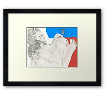 jack and ianto forever Framed Print