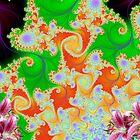 Floral Design Scene Display # 1 by Junior Mclean