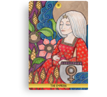 III The Empress Tarot Card Canvas Print