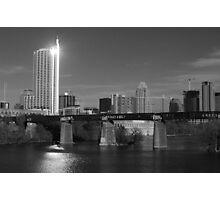 Austin Skyline - 2009  Photographic Print