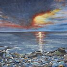 Red Sky at Night - A Dorset Delight by Annie Lovelass