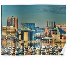 Inner Harbor Baltimore Poster