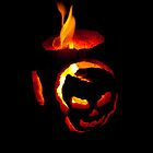 Flaming Pumpkin by INFIDEL