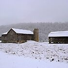 Muncy Valley Farm In Winter (as-is) by Gene Walls
