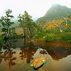 Autumn at The Artists Pool, Tasmania by Kevin McGennan
