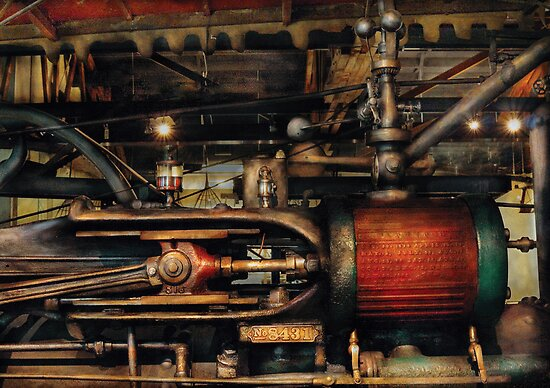 Steampunk - No 8431 by Mike  Savad