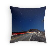 Many Miles to Go Throw Pillow