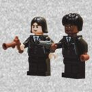 Lego Pulp fiction by Kevin  Poulton - aka 'Sad Old Biker'