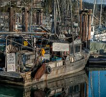 West Coast Shrimp Boat by Rick Ruppenthal