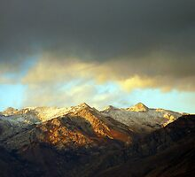 Lone Peak Wilderness from American Fork Boat Harbor by Ryan Houston