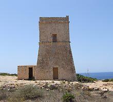 Ghajn Tuffieha (Eye of the Apple Malta) by marcfenech
