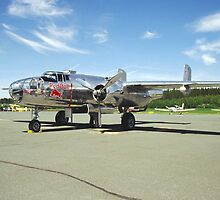 North American B-25 Mitchell by jnmayer