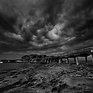 Eye of The Storm Monochrome by MiImages