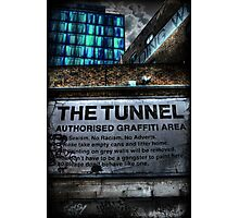 The Tunnel Colour Photographic Print