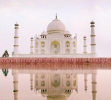 Taj Mahal  by Nikolaz Godet