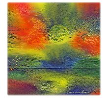 Reflections [greeting card only] by TheMandalaLady
