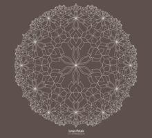 Lotus Petals [white design] by TheMandalaLady