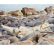 Shoreline Shadows Photographic Print