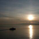 Lake Geneva Sunrise by Richard Cassar
