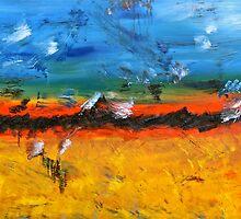 Landscape by Magda Smolenska